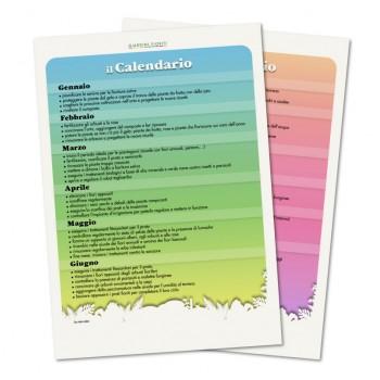 Calendario Manutenzione Giardino